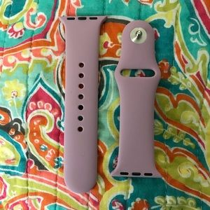 Other - Lavender Silicone Apple Watch Band 38MM